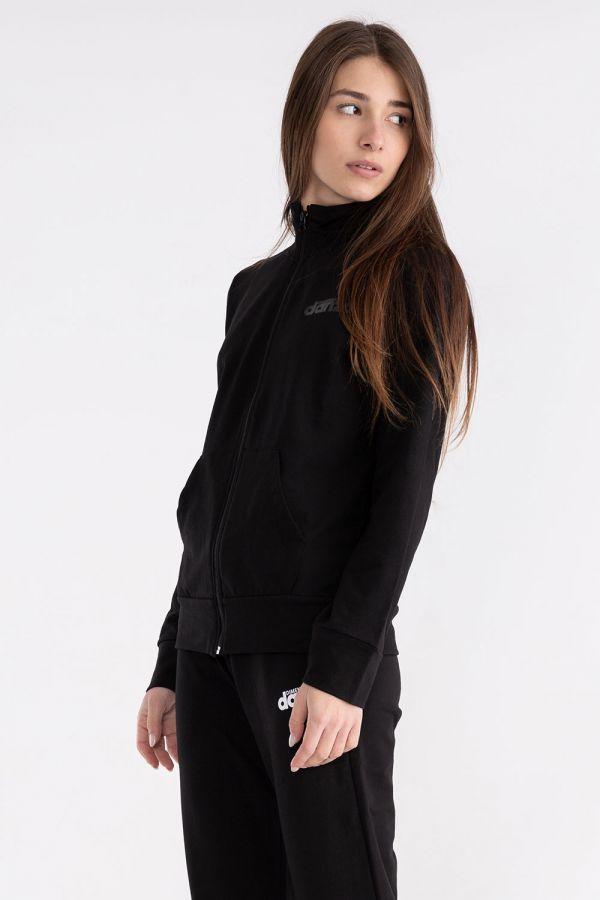 Giacca da donna con zip e tasche