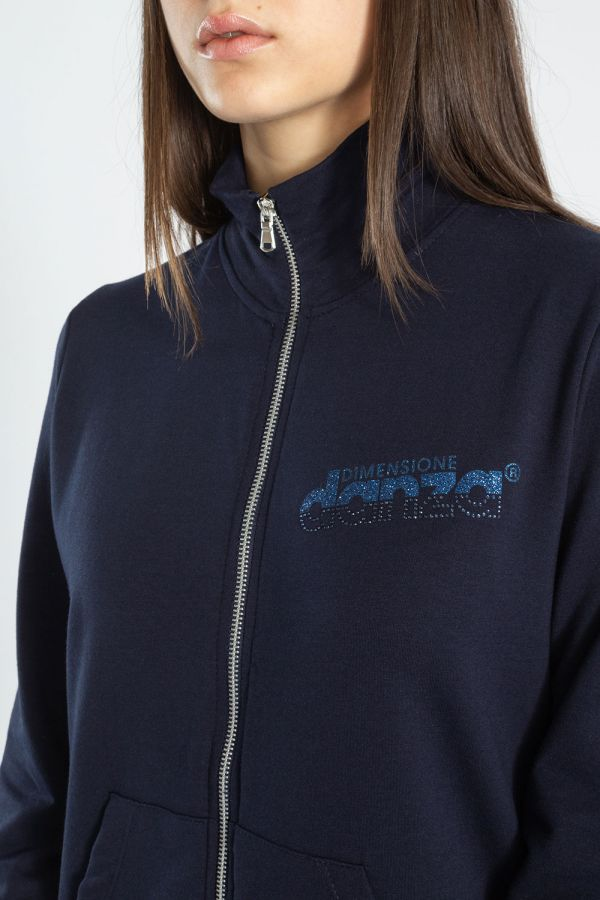 Giacca con zip frotale