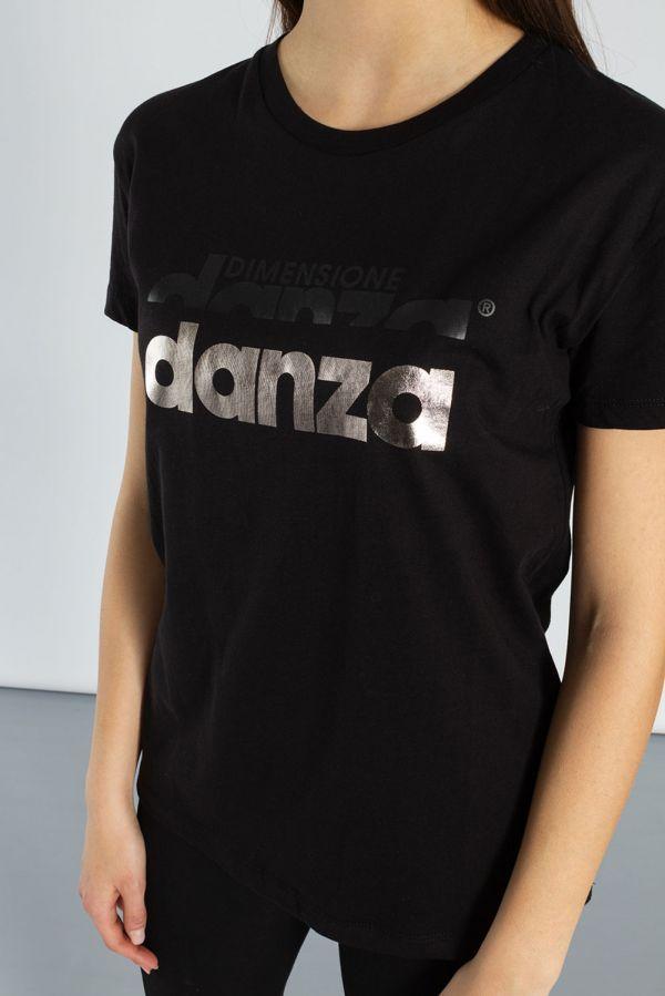 T-shirt a maniche corte in jersey di cotone