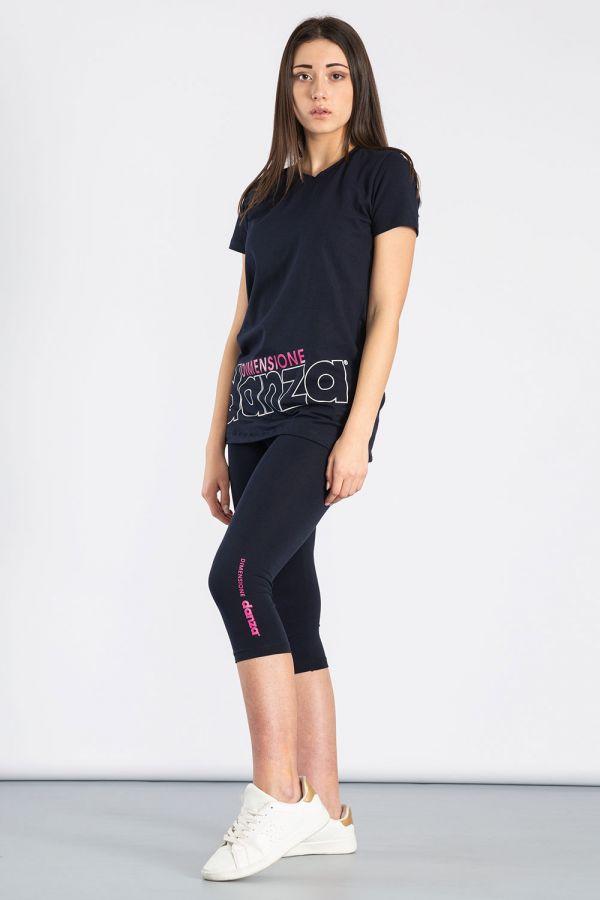 Completo sportivo t-shirt e leggings