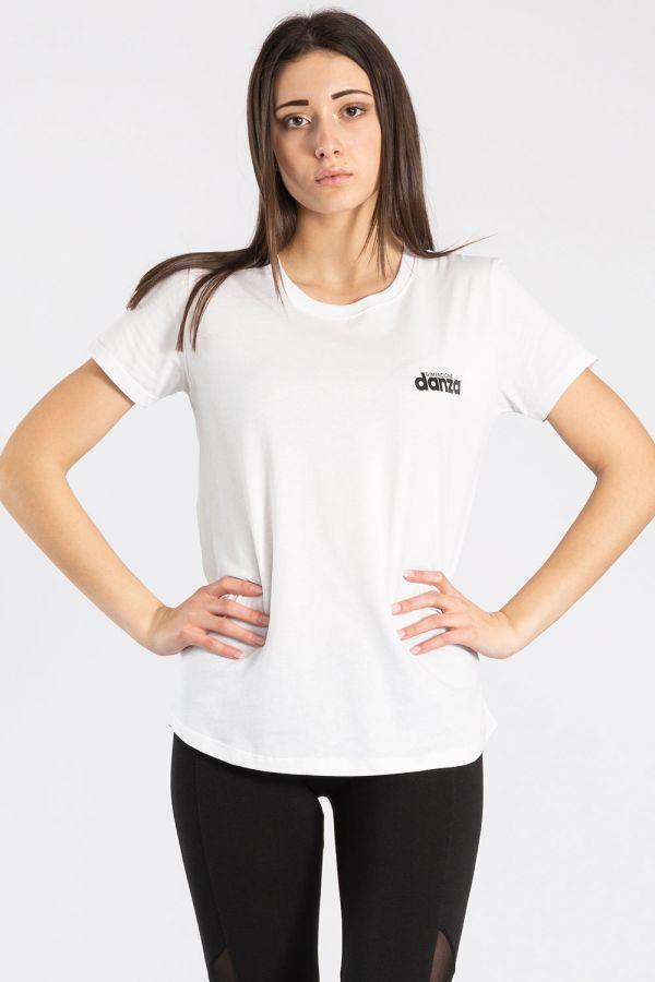 T-shirt a maniche corte in cotone