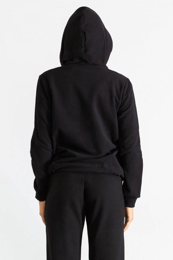 Giacca da donna con cappuccio e chiusura zip