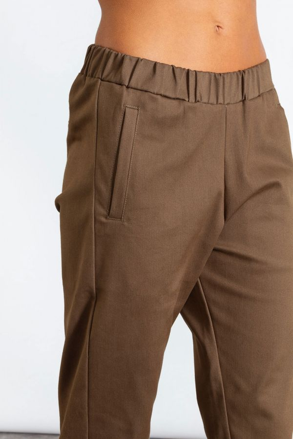 Pantalone donna regular in cotone