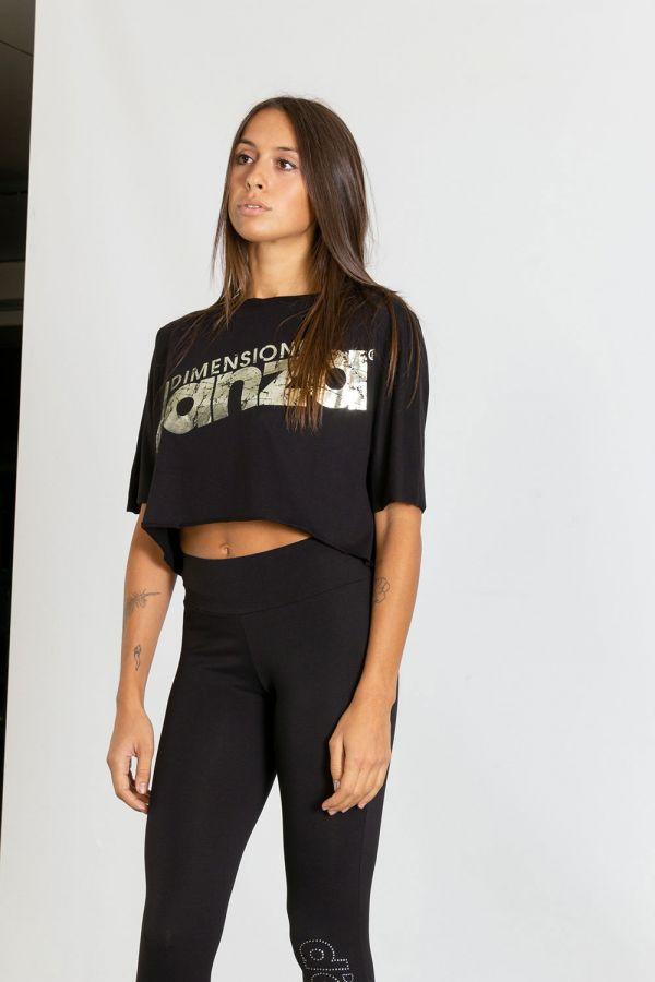 Maglia Crop donna in jersey